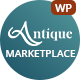 AntiqueMall - Antique Store Marketplace WordPress Theme - ThemeForest Item for Sale