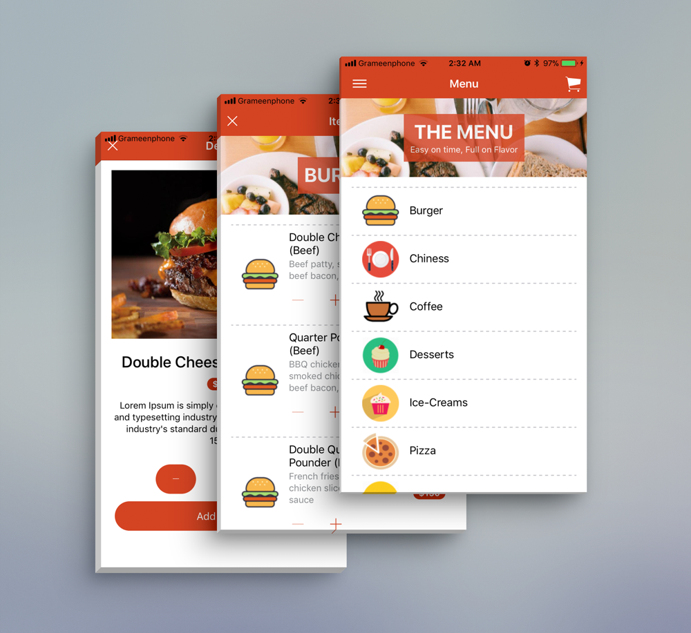 Restaurant Food Delivery Template UI App Supports Multiple Language i18n