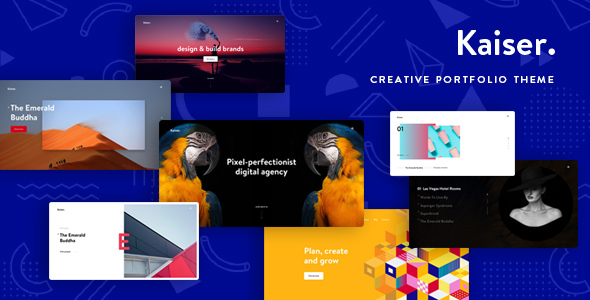 ThemeForest Kaiser A Creative Portfolio WordPress Theme 20940024