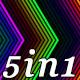 Neon Feedback - VJ Loop Pack (5in1) - VideoHive Item for Sale