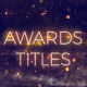 Award Show Titles - VideoHive Item for Sale
