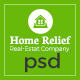 Home Relife - Real Estate PSD Template - ThemeForest Item for Sale