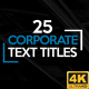 Corporate Titles 4K