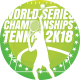World Series Tennis Championships 2018 Sports Flyer