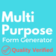 Multi-Purpose Form Generator (Contact forms, Feedback forms, event registration, and many more)