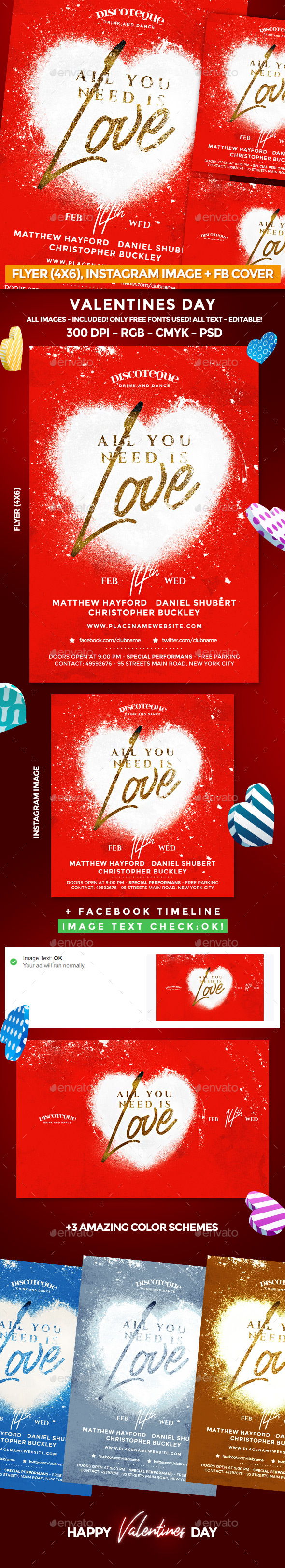 Valentine Flyer - Events Flyers