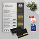 CV/Resume Business Card Template