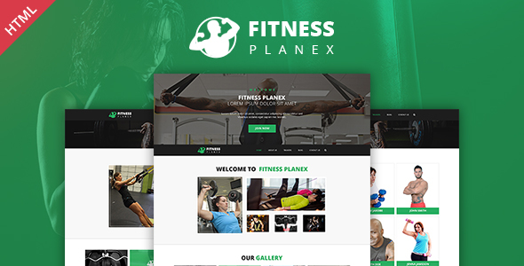 Fitness Trainer – GYM & Yoga Multi Purpose HTML Template by WebPlanex
