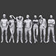 Lowpoly People Casual Pack Vol.18