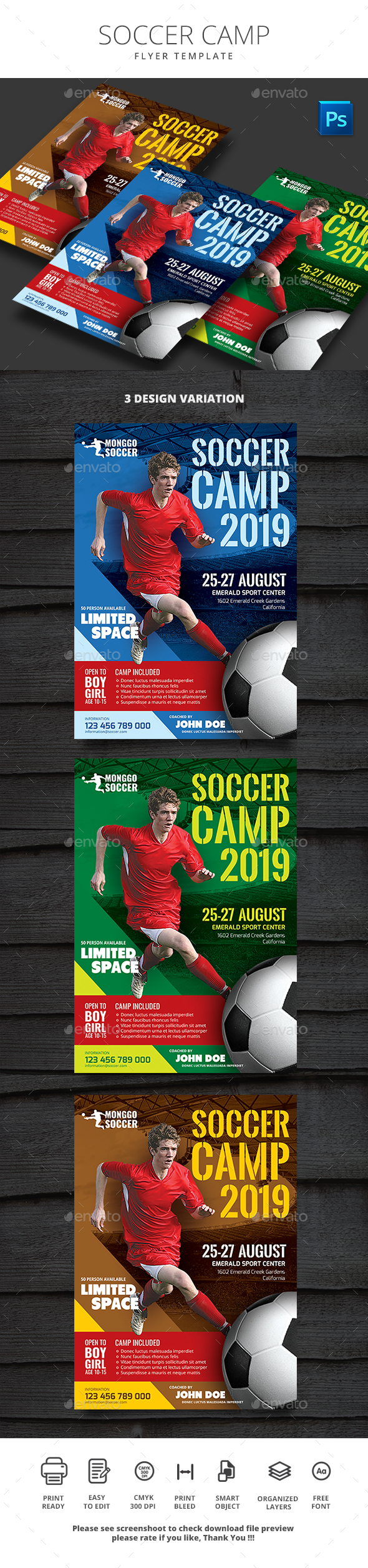Soccer Camp - Sports Events