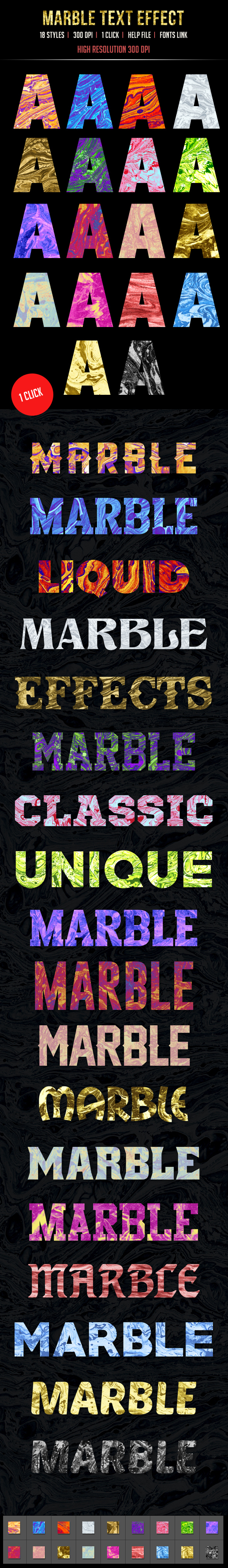 18 Marble Text Effects