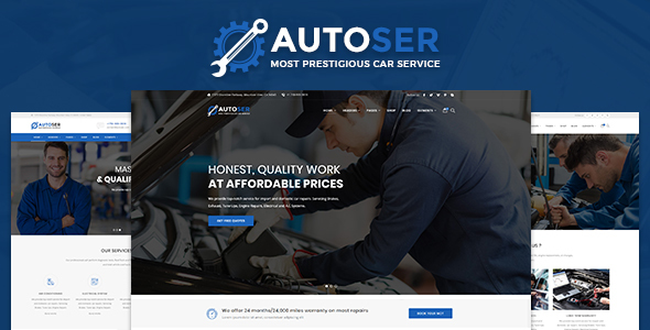 ThemeForest AutoService Car Repair and Car Service 21138492