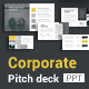 Corporate Pitch Deck Powerpoint Template - GraphicRiver Item for Sale