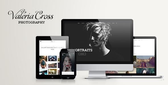 Valeria - Clean Photography & Portfolio WordPress Theme