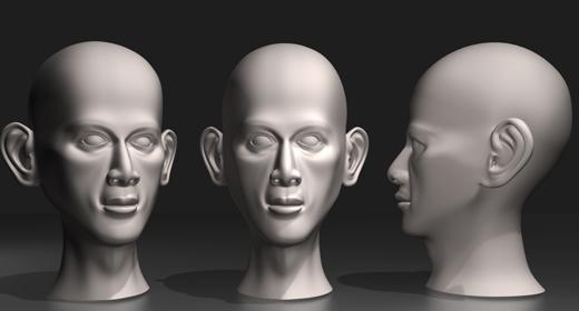 Head_Modeling