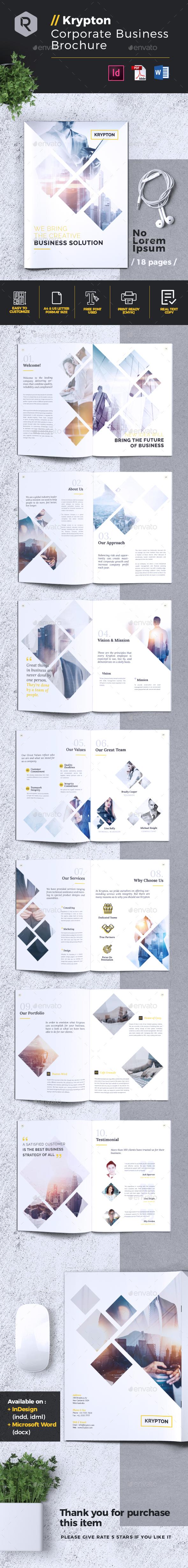 Krypton | Corporate Business Brochure - Corporate Brochures