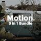 3 in 1 Motion Bundle Google Slide Template