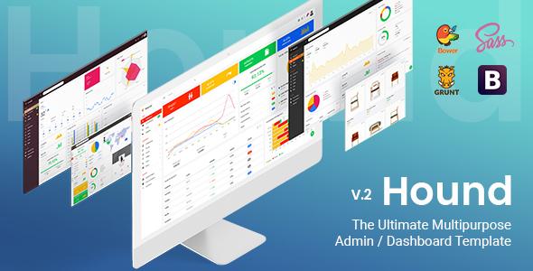 Hound - The Ultimate Multipurpose Admin Template