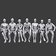 Lowpoly Sitting People Pack Vol. 6
