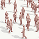 Lowpoly People Crowd - 3DOcean Item for Sale