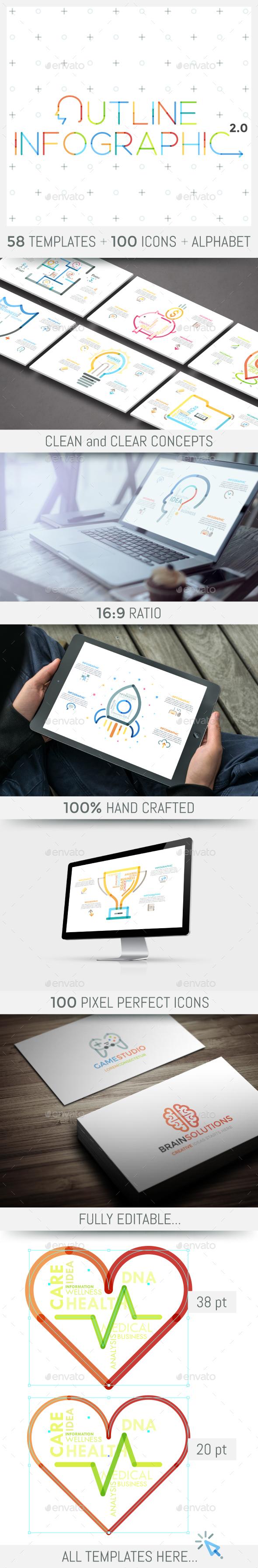Outline Infographics v.2 - Infographics