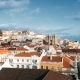 Lisbon Panorama.  . Lisbon Is the Capital and the Largest City of Portugal. Lisbon Is Continenta