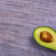 Avocado on a wooden table - PhotoDune Item for Sale