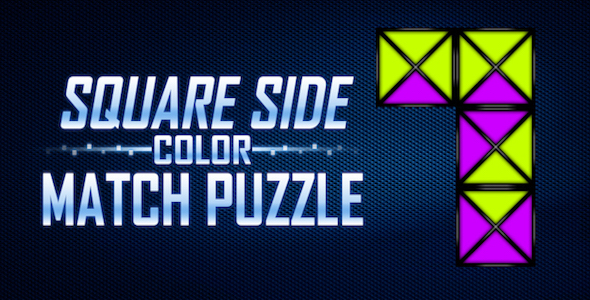 Square Side Colour Puzzle - CodeCanyon Item for Sale