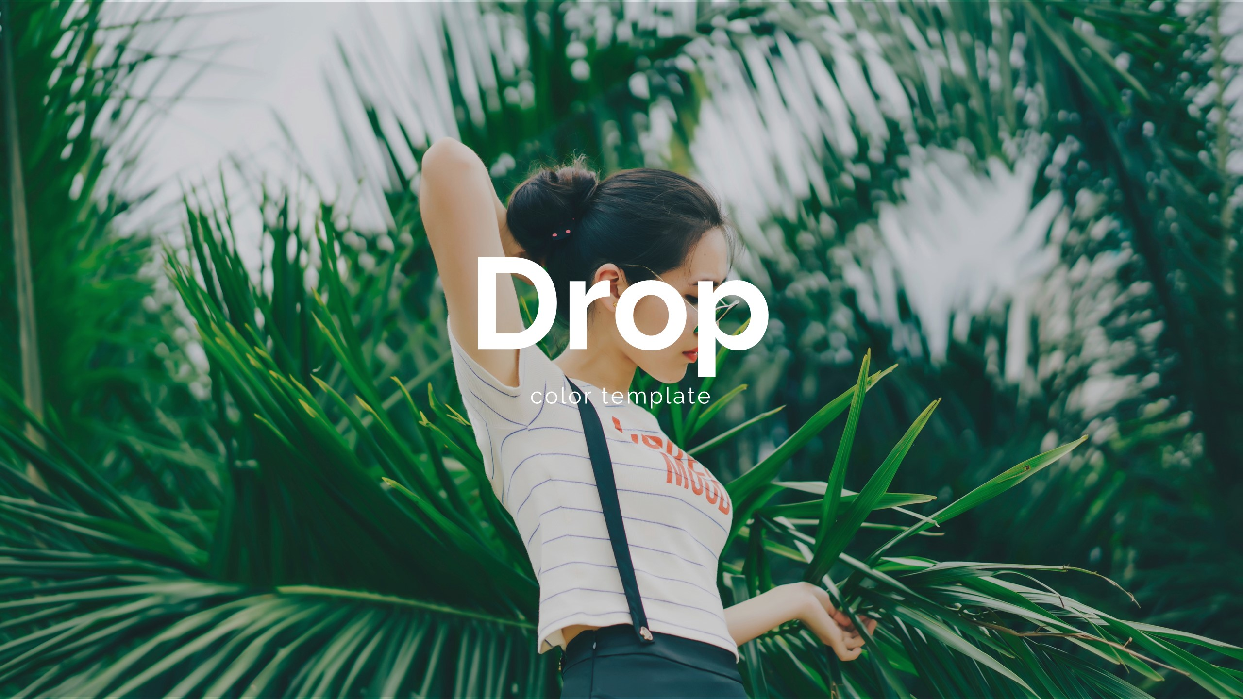 Drop Creative Keynote Template