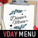 Valentine's Day Menu Vol. 3 - GraphicRiver Item for Sale