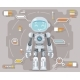 Boy Teen Robot Android Artificial Intelligence