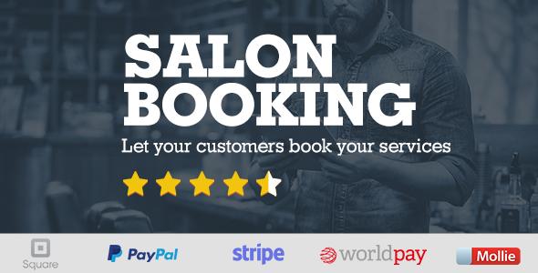 Salon Booking Wordpress Plugin - CodeCanyon Item for Sale