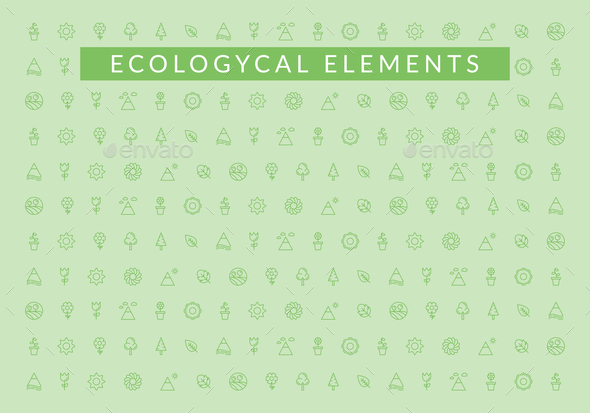 Ecological elements - Icons