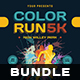 Color Run Flyer Bundle