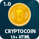 Crypto Coin - Bitcoin Crypto Currency HTML template