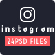 Instagram Banners - GraphicRiver Item for Sale