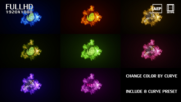 VideoHive Particle Logo Reveal 21206090