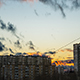 Clouds Running on the Sunset Sky - VideoHive Item for Sale