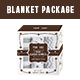 Swaddle Blanket Packaging Template