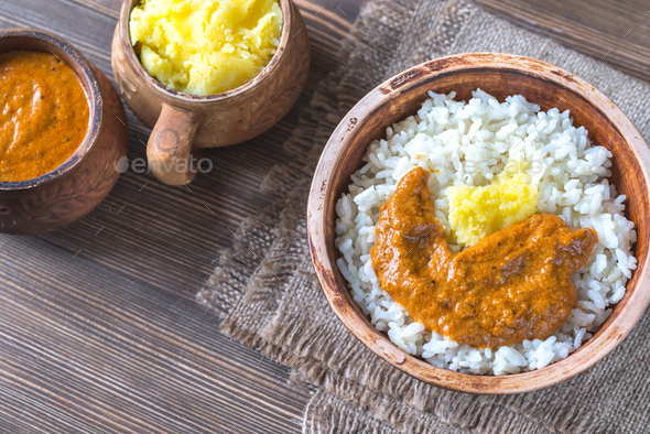 Ghee rice - Stock Photo - Images