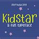 Kidstar - Fun Font