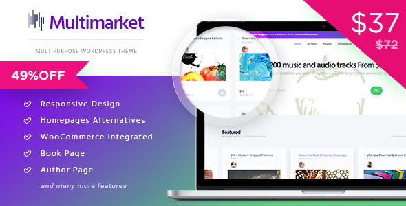 Multimarket - WooCommerce Marketplace Theme
