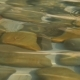 Stones Under Water and Ripples on the Water Surface Pebbles Under Clear Water, Stones Covered By - VideoHive Item for Sale