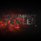 High Impact Cinematic Trailer/Teaser - VideoHive Item for Sale