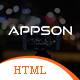 Appson - App Landing Page HTML Template