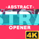 Abstract Opener 4K - VideoHive Item for Sale