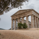 Segesta temple under an olive tree on Sicily - PhotoDune Item for Sale