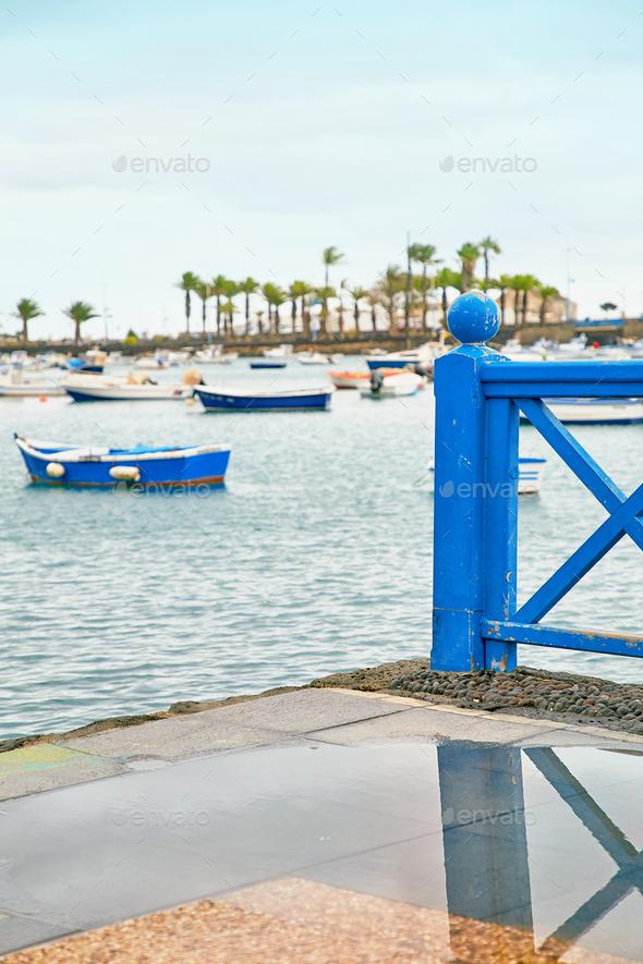 "Laguna ""Charco de San Gines"" at Arrecife - Stock Photo - Images"