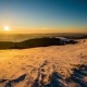 Sundown  in Winter Mountain - VideoHive Item for Sale