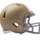 Modern football helmet isolated on a white background - PhotoDune Item for Sale